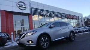 2016 Nissan Murano Platinum Awd--NON-RENTAL,Navigation,Leather,S