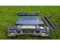 Landrover Discovery Parts: Bonnet, Front & Rear Bumpers, Side Steps