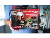 Scala Rider Q2 intercom.