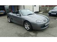 MG TF Stepspeed Convertable Grey Low Mileage Sports Paddle shifts