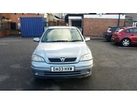 Vauxhall Astra 1.6 ACTIVE 2003 MOT 5 DOORS Great Drive ONLY 1 PREVIOUS OWNER*** BARGAIN **********