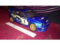Model Subaru RC Car