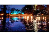 Glow wild winter lantern festival tickets x 2, Wakehurst tonight!