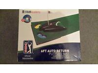 PGA TOUR 6FT AUTO RETURN GOLF PUTTING MAT....ideal christmas present £18