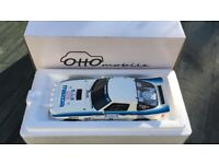 Used, 1:18 scale Otto Mazda RX7 and BMW M3 Rally. New and mint. for sale  Newtownards, County Down