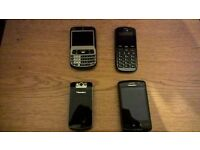 job lot 28 mobile phones all working various networks