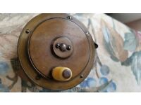 A&NCSL Vintage Fly Fishing Reel approx 100 years old. Good condition. Rachet works