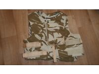 British Army Bullet Proof Vest with Kevlar and Plates size 170/112
