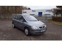 2004 Vauxhall Zafira 1.6 Club 16v 7 Seater MPV 11 Months MOT