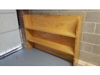Wooden bookshelf/storage unit