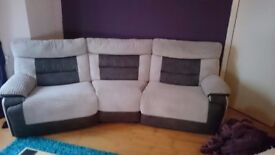 Two Luxury Recliner Sofas / Suite for Sale