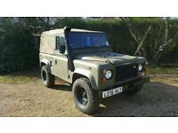 1993 Land Rover Defender 90 Ex Military – With Power Steering