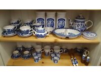 Blue Willow China - various items