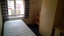 Single sized room, furnished, no-smoking, available weekly, full time employed, no couples.
