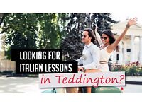 Italian Lessons in Teddington: 1-2-1 and group tuition