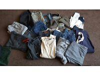 Mens bundle of clothes size L and Xl