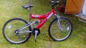 Shockwave 450sus push bike