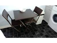 Table and chairs for garden or kitchen