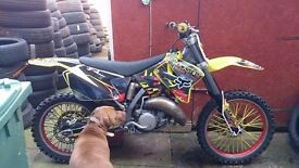 Rm 125 on road not ktm yz mot