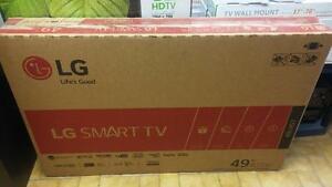 TELEVISION 49'' LG SMART TV NEUVE GARANTIE 1 AN SEULEMENT 599.95