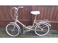 Hercules Folding Bike