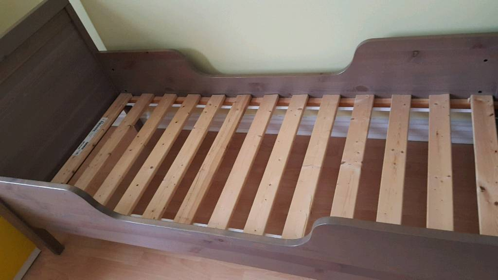 Ikea Sundvik Toddler Bed (not extendable) with slatted ...