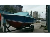 BOAT and TRAILER 16ft