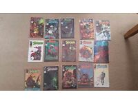 Spawn comics issues 16 to 30 mint condition