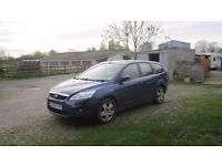 Ford Focus Estate 2008 12 months MOT Cambelt replaced at 95000 cheap road tax up to 60 mpg