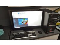 pc 64 bit and huge monitor windows 10