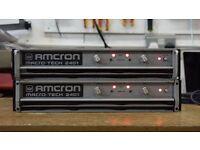 Power Amp Clearance - Crown Macro Tech, Crown Geodyne, Yamaha P3500