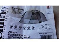 Climo Sunset 500 tent for sale