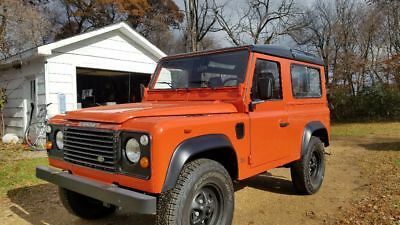 1992 Land Rover Defender  Wisconsin Title