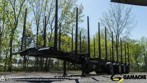 2013 TRAILEX  LOG TRAILER 48' 4 AXLES