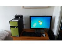 Desktop Dell Inspiron Quad Core (Not including Monitor - sold)