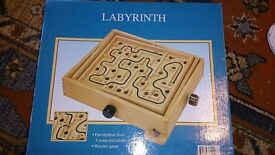 Brand new labyrinth game. Boxed.