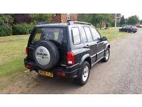 2005 Suzuki Grand Vitara 2.0 Petrol 4x4 Black - LEFT HAND DRIVE