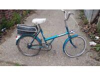 Raleigh shopper bike good working order