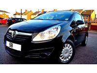 2008 VAUXHALL CORSA 1.3CDTI, £ 30 TAX ONLY 75000 MILES, 3 MONTH WARRANTY+P/X WELCOME