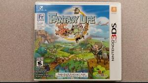 Fantasy Life 3DS Game