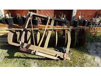 cultivator discs ideal for alloment tractor