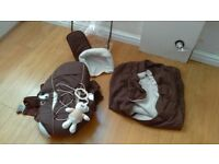 Bruin Toys R Us dark brown Baby Carrier 3.5-12kgs with Accessories