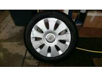 Audi a3 16 Alloys and tyres in need of refurbishment