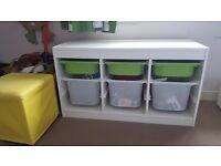 Ikea trofast childrens toy storage unit