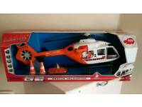 Giant Dickie SOS rescue helicopter
