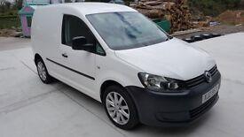 Excellent condition Volkswagen VW Caddy Van. New shape. Ply lined, economical well built van