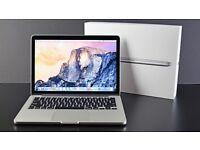"Apple MacBook Pro 13.3"" with Retina Display 8gb RAM, 128gb flash storage"
