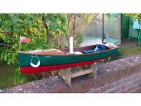 Electric Powered Radio Control Imitation Model Steam Boat (Like Model Steam Engine)