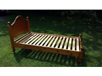 Ducal Single Bed frame with headboard.
