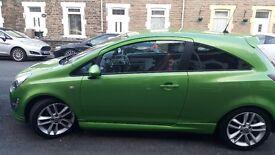 Vauxhall corsa sri 1.4 2012 petrol